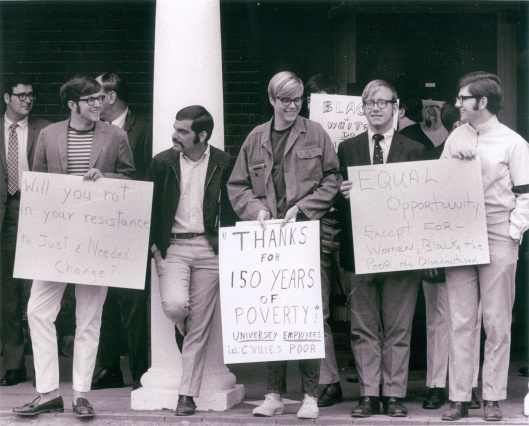 UVA Living Wage Rally 1969