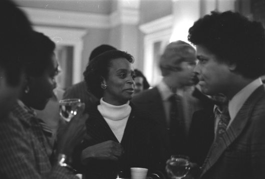 Vivian Gordon and Julian Bond